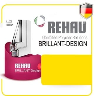 Профиль Rehau brillant-design